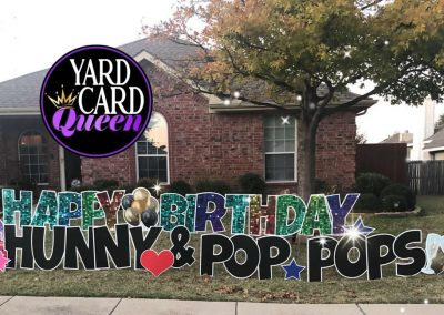 Birthday Yard Sign Celebration