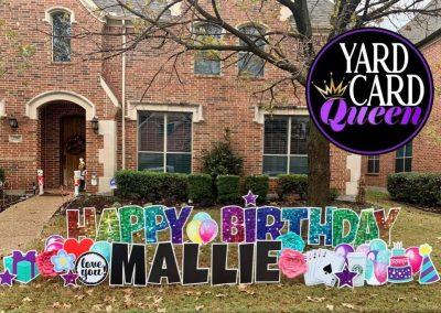 Birthday Celebration Yard Sign Rentals