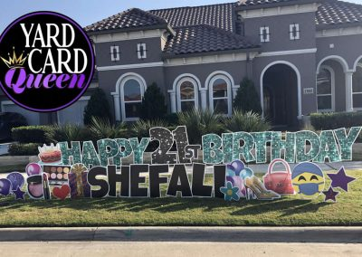 Happy Birthday Yard Sign Near Me