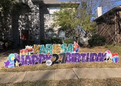 Happy Birthday Yard Art Signs Near Me