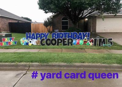 Kids Birthday Yard Sign Rental