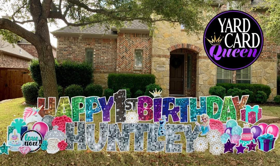 Birthday Yard Sign Rental Near Me