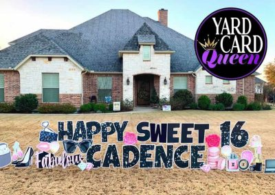Birthday Yard Signs Rentals Near Me