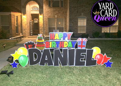 Birthday Yard Stakes For Kids