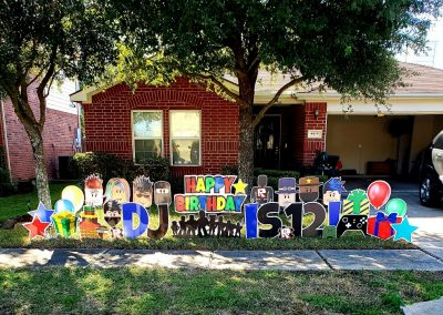 Celebration Birthday Yard Signs