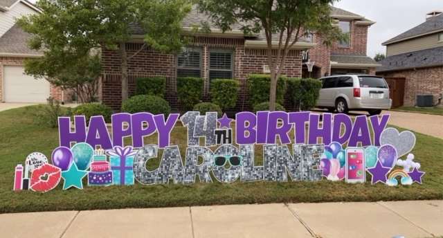 Celebration Birthday Yard Signs Near Me
