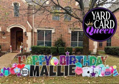 Celebration Yard Signs Happy Birthday