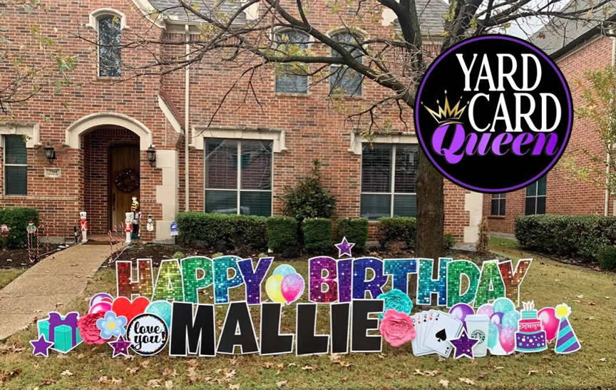 Celebration Yard Signs Happy Birthday