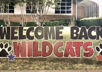 First Day of School Yard Sign