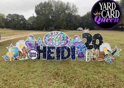 Happy 20th Birthday Yard Sign Near Me