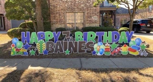Happy Birthday Boy Yard Signs Near Me