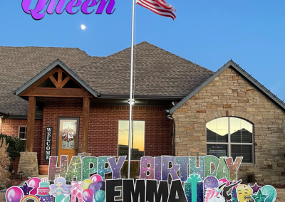 Happy Birthday Yard Sign Decorations