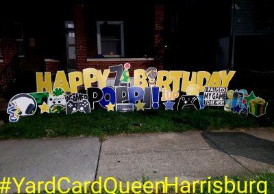 Fun Birthday Yard Sign For Front Yard