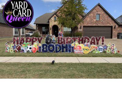 Birthday Yard Sign Decorations