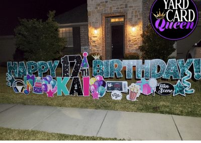 Birthday Yard Sign Rental Company Near Me