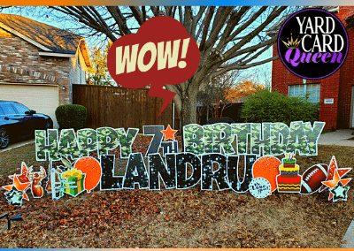 McKinney Texas Yard Sign Rental Near Me