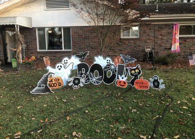 Happy Halloween Yard Sign Rental in Norfolk, VA