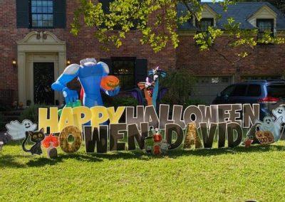 Halloween Yard Sign Rental in Norfolk, VA