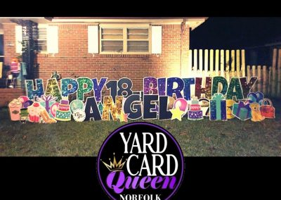 Norfolk, VA Birthday Yard Sign Rental Company