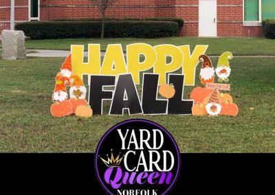 Happy Fall Yard Sign Rental