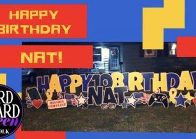 Birthday Yard Sign Rentals In Norfolk