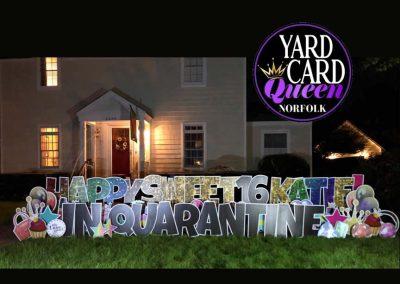 Sweet Sixteen Birthday Yard Signs