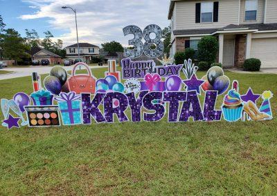 Birthday Yard Sign Rental Company
