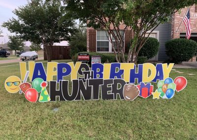 Yard Sign Rentals In Wylie, Texas