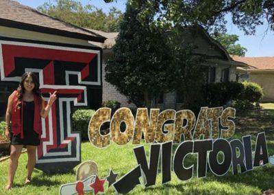 College Graduation Yard Sign Rental