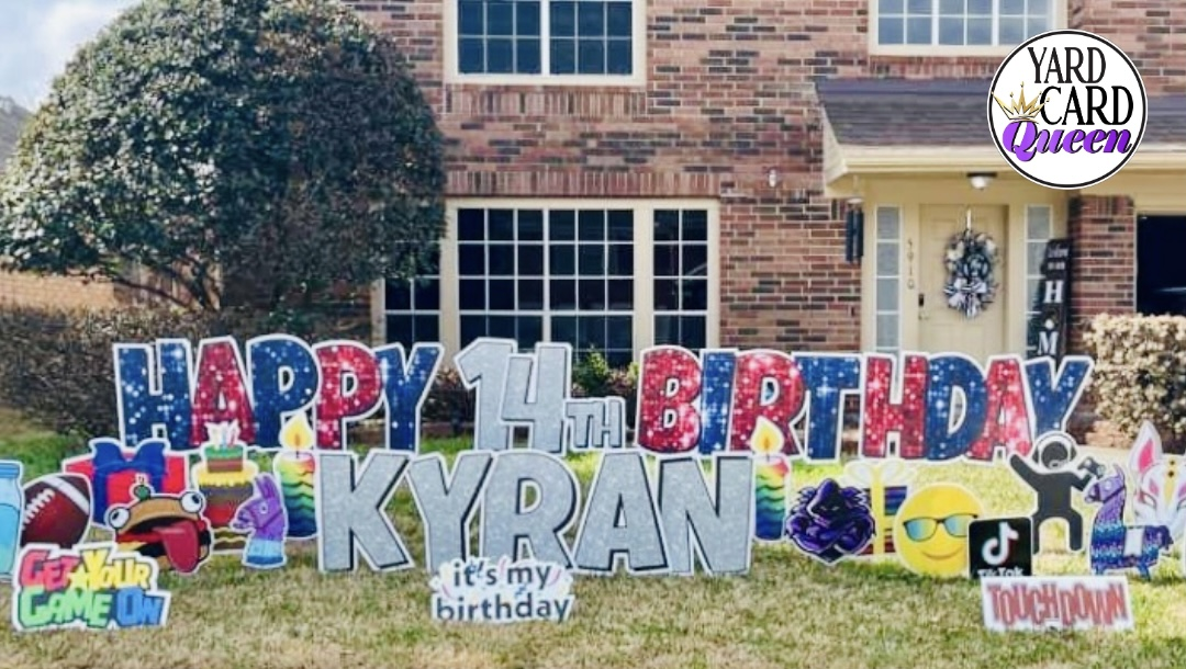 Happy Birthday Yard Signs For Rent