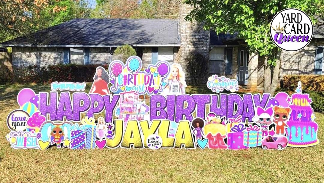 Large Birthday Yard Sign