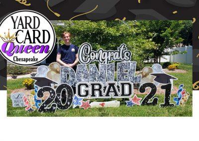 Congratulations Graduate Yard Sign Rental
