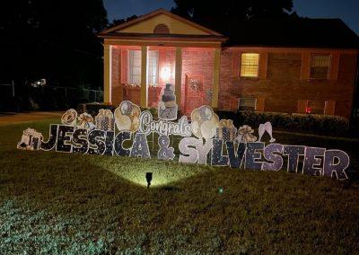 Congratulations Yard Sign Rental Cordova, TN