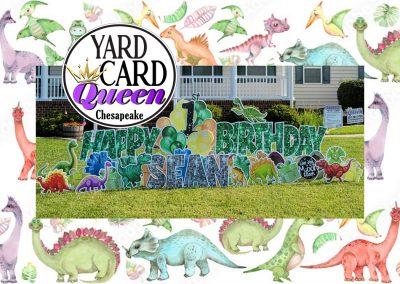Fun Happy Birthday Yard Sign Rental Chesapeake, VA